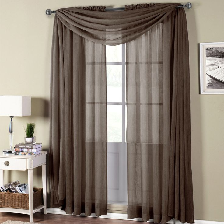 How To Hang Curtains With Valance And Sheers   Curtain ...