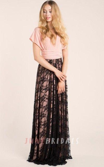 Light Pink Long Lace Blush Pink Bridesmaid Peach Lace Bridesmaid Lace Lace Prom Romantic Gown Dress