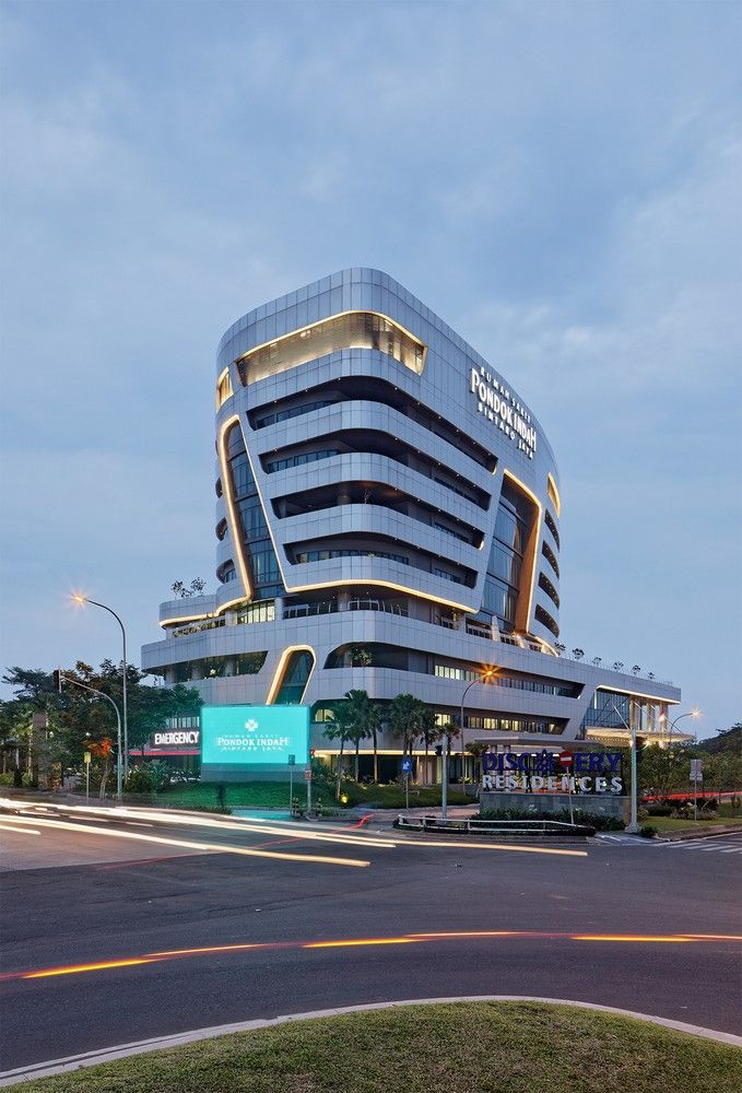 Pondok Indah Bintaro Jaya Hospital Hospital Design Architecture