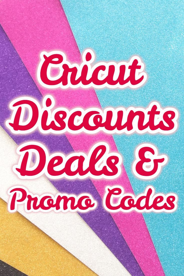 Weekly Cricut Coupons, Deals, Promo Codes, Discounts & Sale