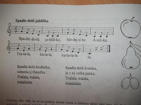 """Képtalálat a következőre: """"písnička lečo noty"""""""