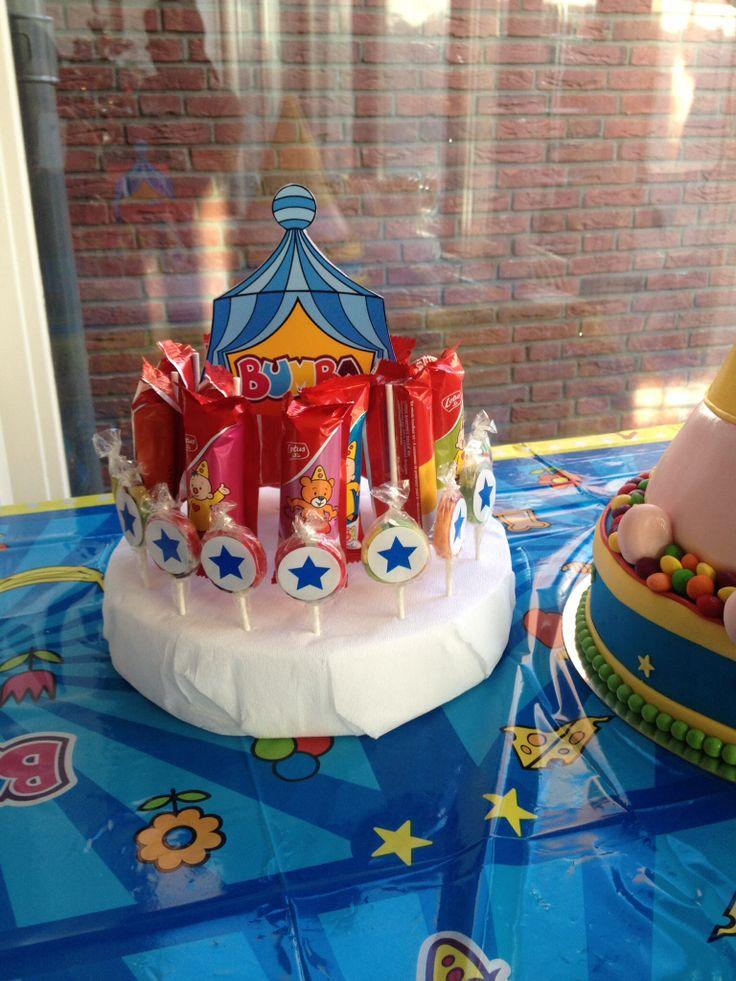 Bumba kinderfeestje #traktatietaart #traktatie www.hieppp.nl
