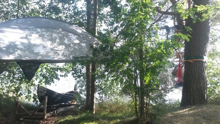 Lakeside Tentsile Camping in Finland