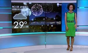 Veja a previsão do tempo para a noite da virada e para domingo (1º) nas capitais do Brasil