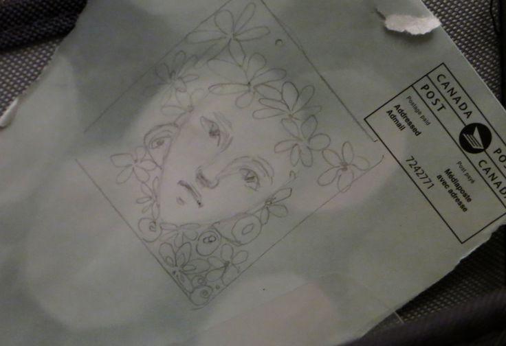 Flower Fairy sketch.