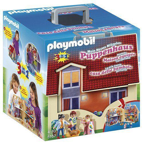 Playmobil – 5167 – Jeu de Construction – Maison Transportable: Avec la maison transportable, les histoires s'emportent partout ! La maison…