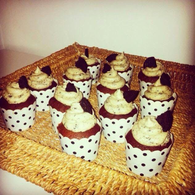 ✩ Jóna Kristín ✩: Himneskar OREO cupcakes