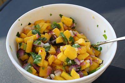 Mango Salsa: easy mango salsa