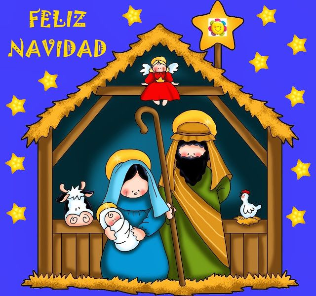 Image result for feliz navidad religious images