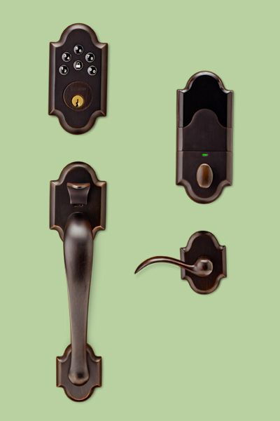 Baldwin provides the perfect look for any #keyless entry.