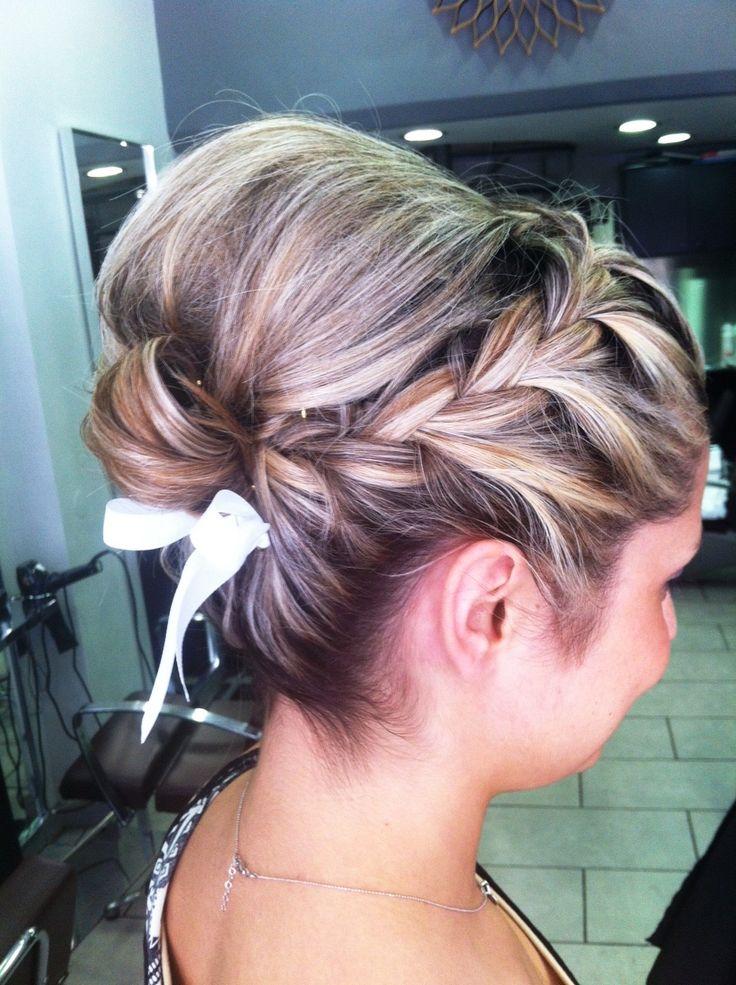 #wedding #occassion #be2in #bun #braid #hair #blonde #romantic