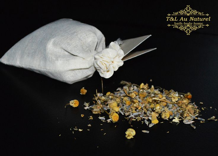 Anxiety Herbal Sachet Ease the symptoms of stress & anxiety with our organic herbal sachets!  http://tandlaunaturel.com/collections/bath-shower/products/herbal-sachet-anxiety-blend