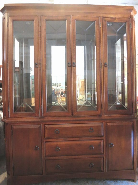 Thomasville China Cabinet Dining Room