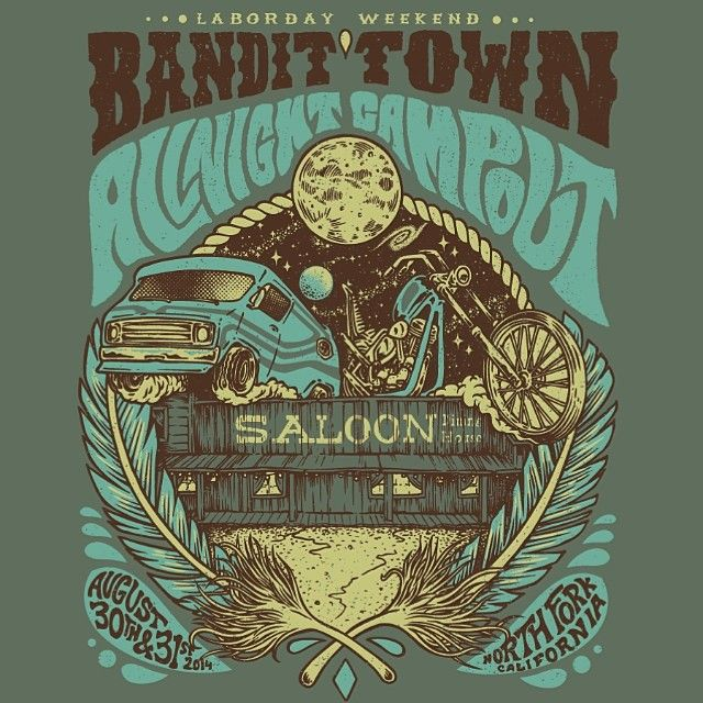 WEBSTA @ bandittownusa - All Night Campout in Bandit Town this Labor Day weekend!! Tickets available at the link in @allnightryan profile (or bandittownallnightcampout.ticketleap.com/allnightcampout/) and you can save 5 bucks by entering code: ladiesloveoutlaws. Get your tickets soon it's gonna be a good time!!! #bandittown