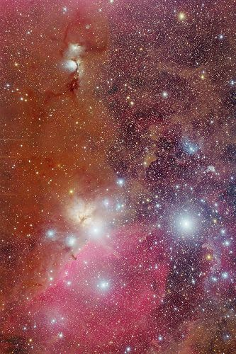 Messier 78 and Horsehead Nebula with FSQ-106ED and Reducer QE 0.73x December 2011 Light Version