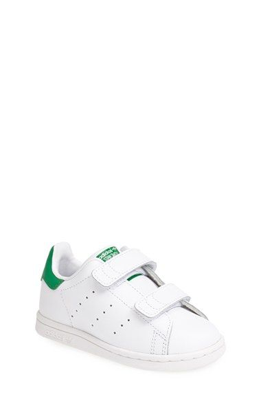 adidas \u0027Stan Smith\u0027 Leather Sneaker (Baby, Walker \u0026 Toddler) available at