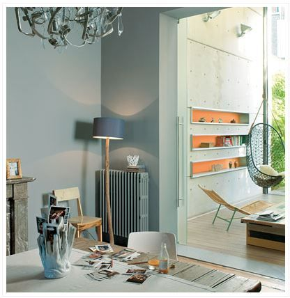 Modern Grey living with French Grey (Dulux Trade)