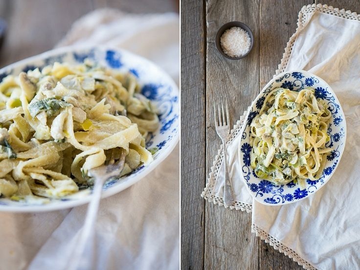 One of my favourite ways to enjoy pasta was with a leek and mushroom creamy sauce. I must say though, since creating this recipe, I much prefer this! It tastes amazing and you don't even realise there is no dairy in it.