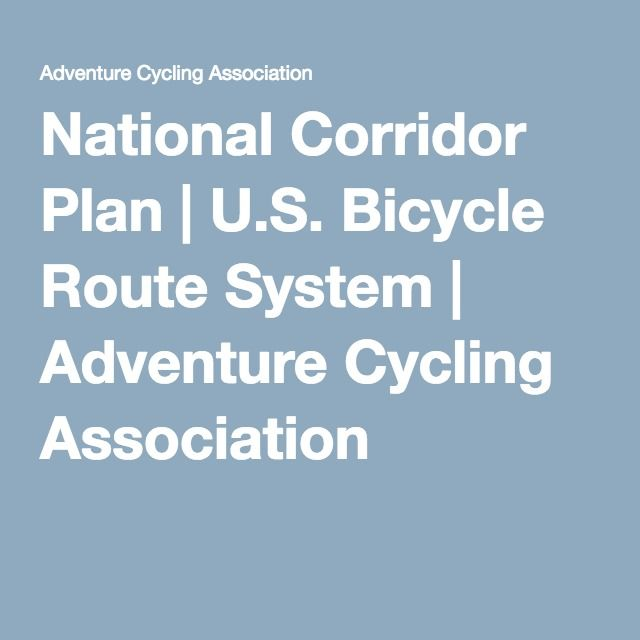 Best US Bicycle Route System Images On Pinterest Bicycle - Us bike route map
