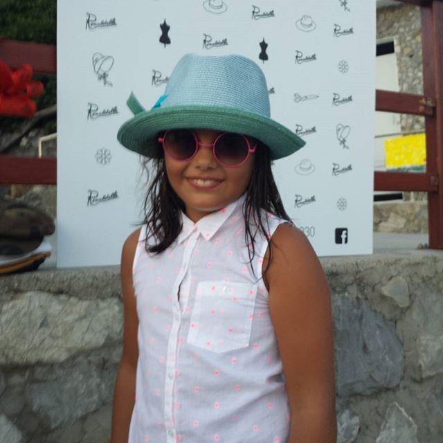 Ada... la seconda bambina che gioca con noi e i nostri cappelli ad #hatsummer  #Livorno #Toscana #Tuscany #Italy #Italia #instaitalian #instaitalia #moda #fashion #womenfashion #sea #seaside #mare #cinema #cortometraggio #cortometraggi #estate #hat #instaitaly