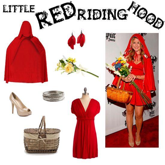 Halloween Costume Diy Little Red Riding Hood Mode Pinterest