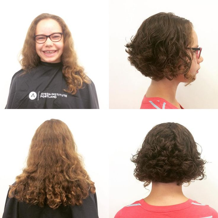 Major makeover! I took Cambria's long one-length and turned it into a graduated a-line, and left a few longer curls at the front. I love this cut so much!! To schedule an appointment, call 503-294-6000 and ask for Elizabeth.  #pdxhair #pdxsalon #pdxstylist #pdx #portland #avedainstituteportland #hairbrained #makeover #transformationtuesday #aveda #modernsalon #portlandsalon #portlandstylist #portlandhair