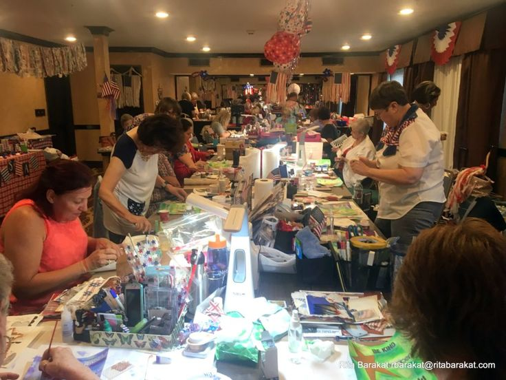 Pinners conference and Pinterest ;lovers art class with Rita Barakat