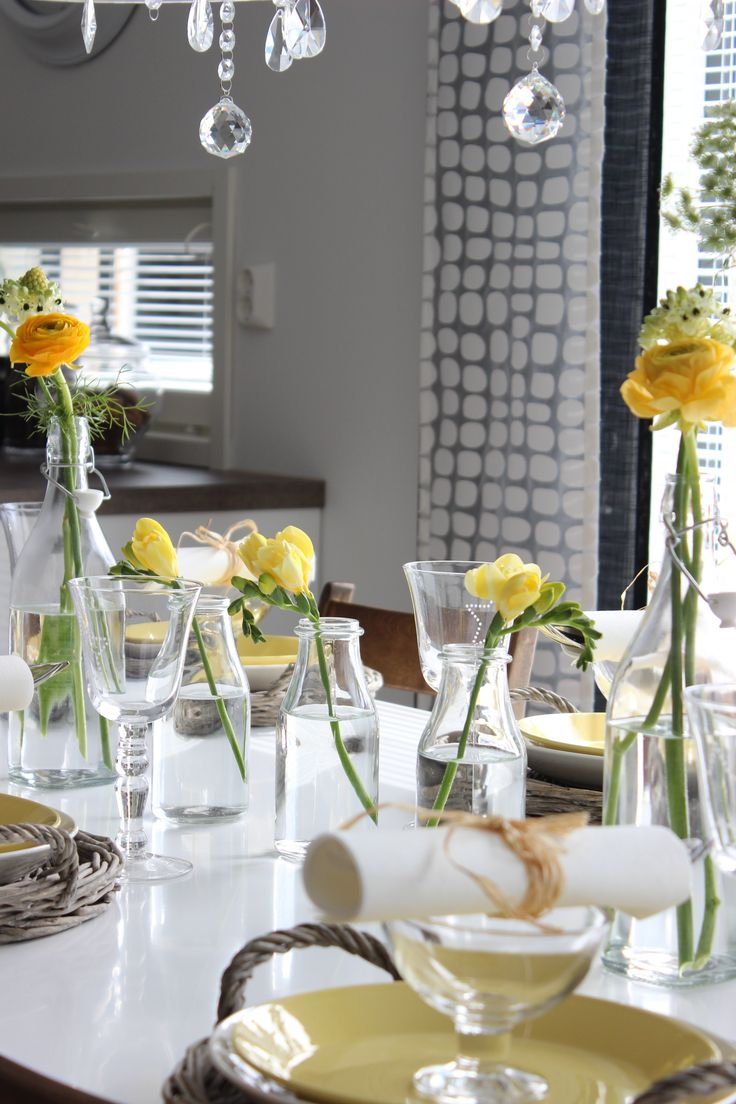 Kattaus, Table setting