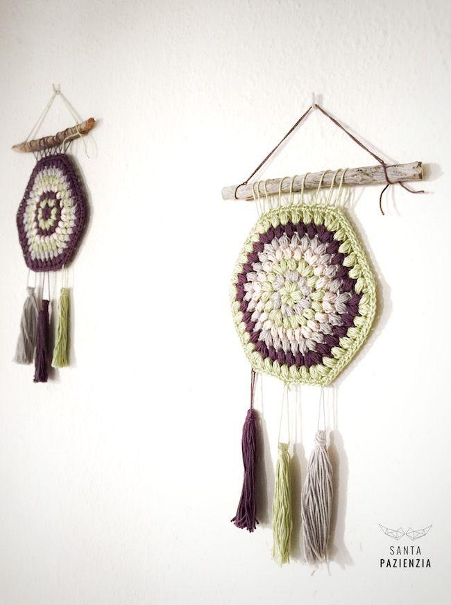DIY Atrapasueños crochet