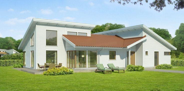 A modern L shape three bedroom bungalow