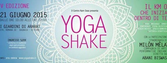 Il Centro Apice parteciperà allo Yoga Shake a Viterbo, Domenica 21 Giugno 2015, con una conferenza sulla comunicazione efficace e  incontri di gruppo sulle tecniche di rilassamento.  Per info e prenotazioni:   Centro di Psicologia e Psicoterapia APICE  Via I. Garbini 29/G – Viterbo  Tel. 0761/220585   e-mail: info@centroapice.org
