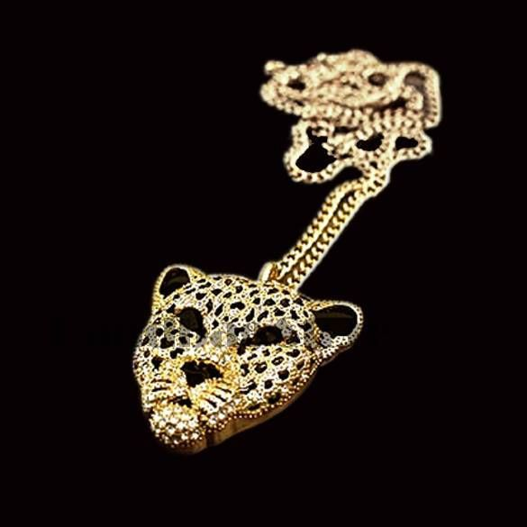 Купить товарНовинка леопарда медальон персонализированные ювелирные изделия тигр леопард глава двойной свитер цепочка SV001111 3F в категории Подвескина AliExpress.        Новая мода леопардовый полые ожерелье медальон персонализированные ювелирных изделий Тигр головой леопарда свитер