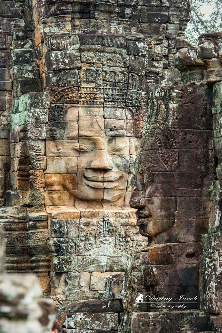 Bayon temple . Ankor Wat