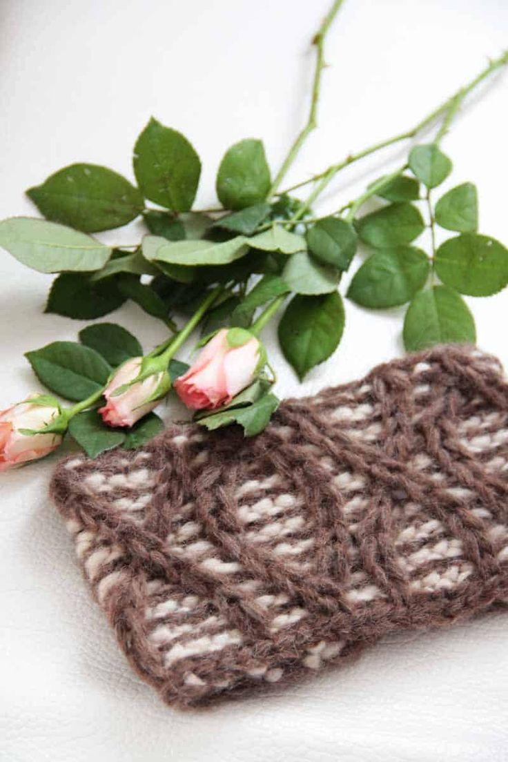 Návod na dámskou pletenou čelenku