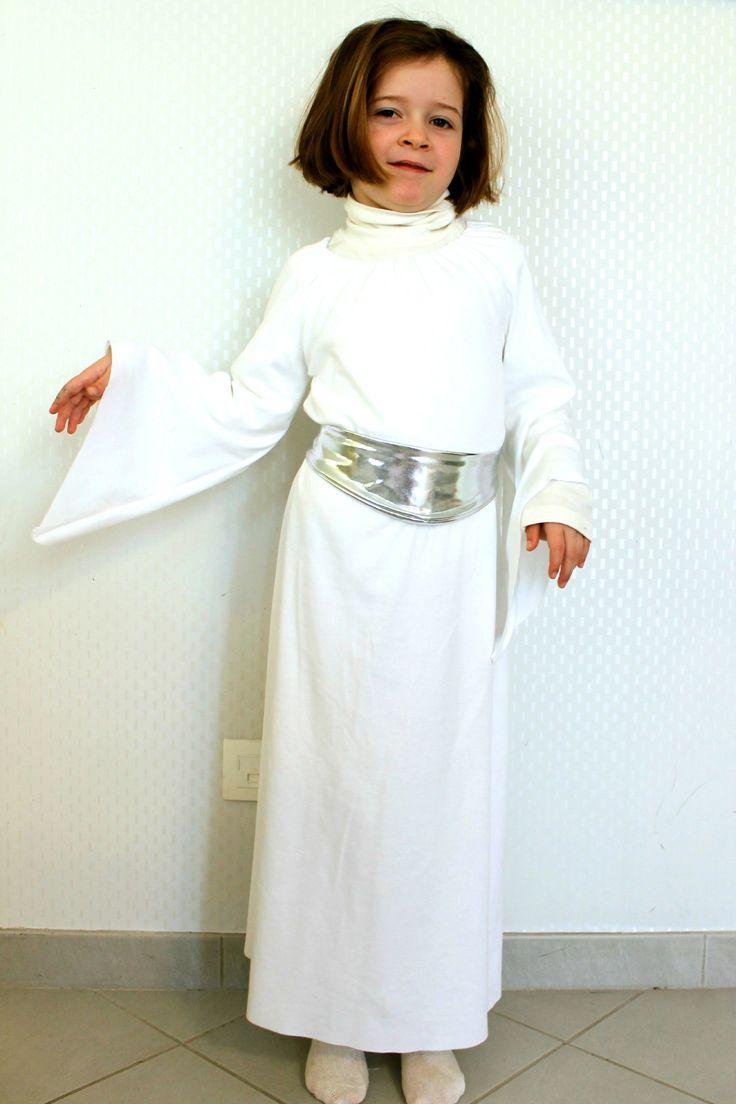 Déguisement star wars, princesse Leia