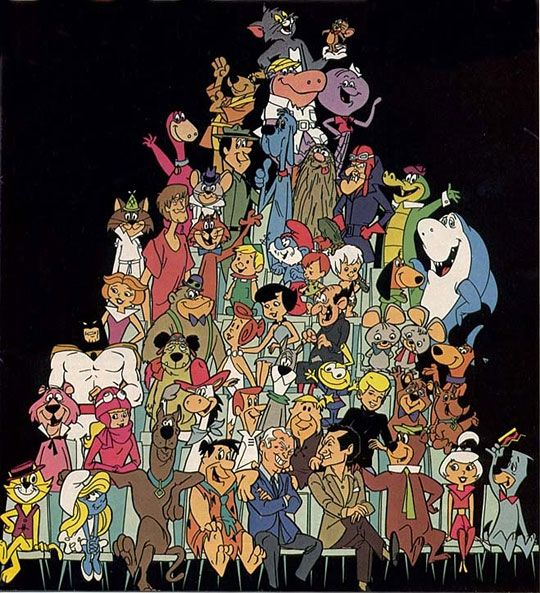 Remember these fellers? I spent plenty of Saturday mornings with them. They just don't make cartoons like this anymore