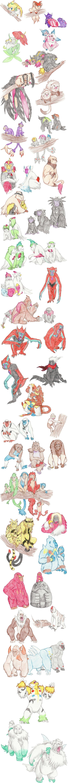 Primate Pokemon by DragonlordRynn on DeviantArt