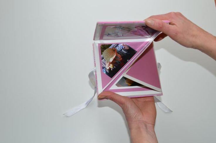 Bastelideen/Kurz Anleitung: Leporello selber machen als Fotoalbum -- Bild 2