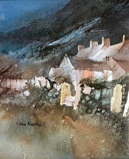 late and much lamented watercolourist John Blockley (1921-2002).