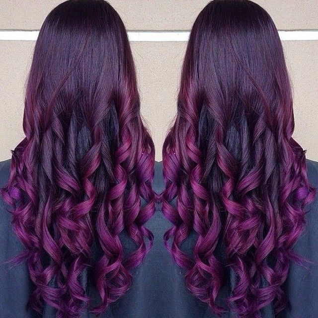 25 beautiful purple hair extensions ideas on pinterest colored purpepurple ombre hair colors with dyeable white blonde hair extensions 613a pmusecretfo Images