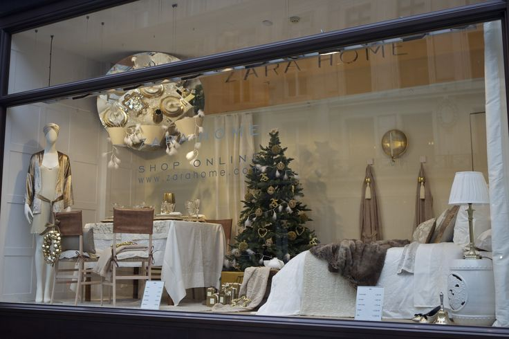 #Christmas luxury at @zarahome in#RegentStreet.