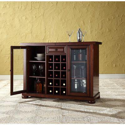 Fresh Sliding top Bar Cabinet