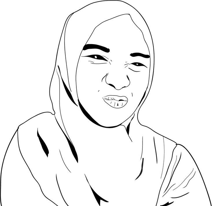 karikatur wajah #artwork #artjob