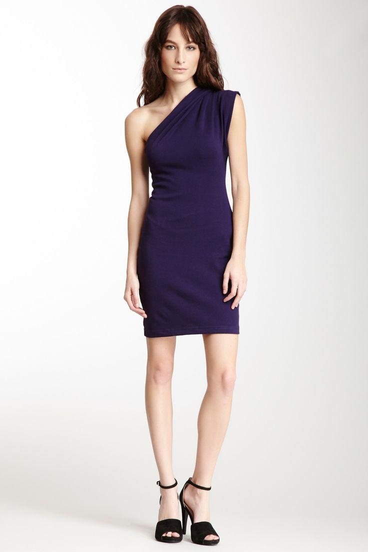 American Apparel Interlock Asymmetrical Dress $14.00 4 colors