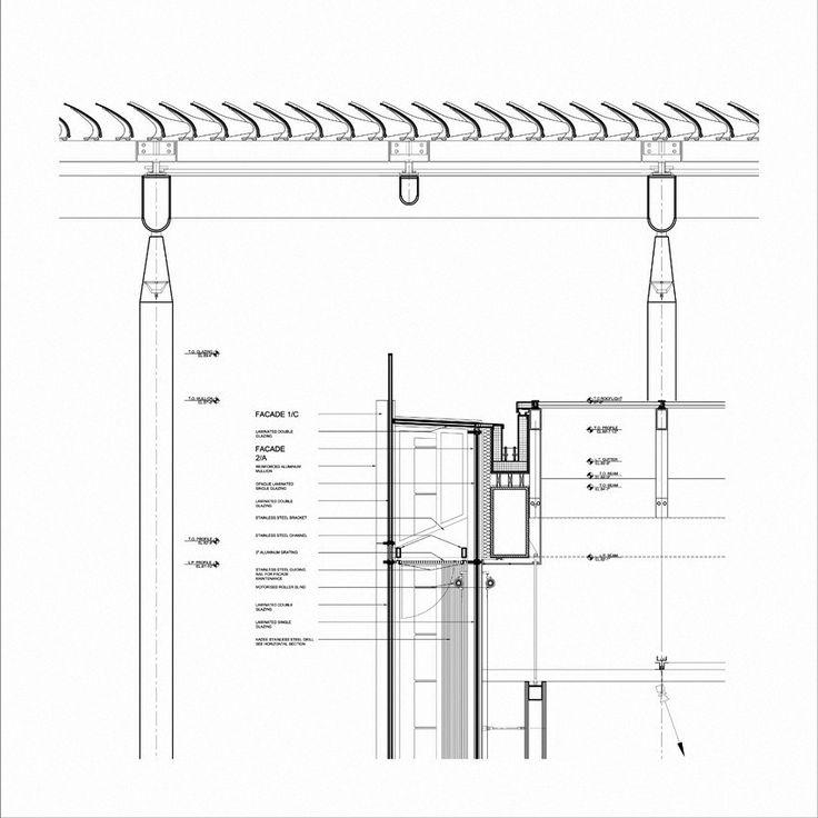 Modern Wing at the Art Institute of Chicago/ Renzo Piano A-6122C.dwg 5'x5' eps (1) – ArchDaily