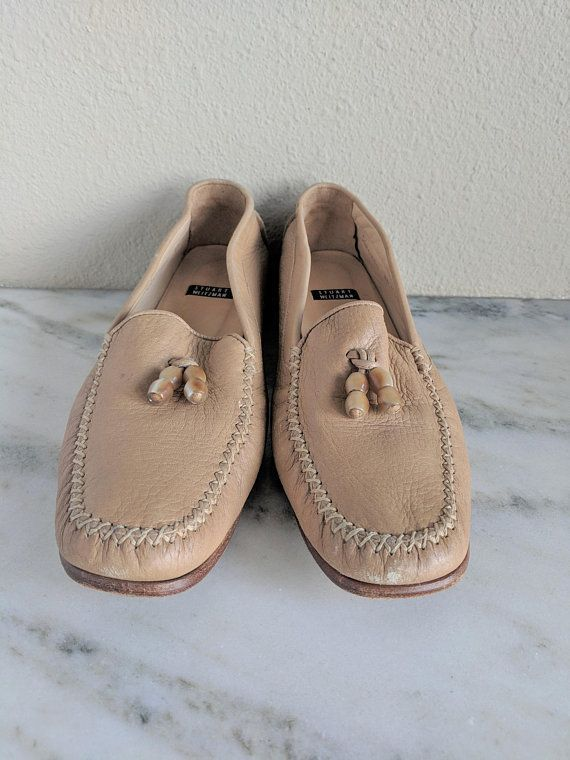 9a7e4b08992 Vintage Stuart Weitzman Leather Loafers