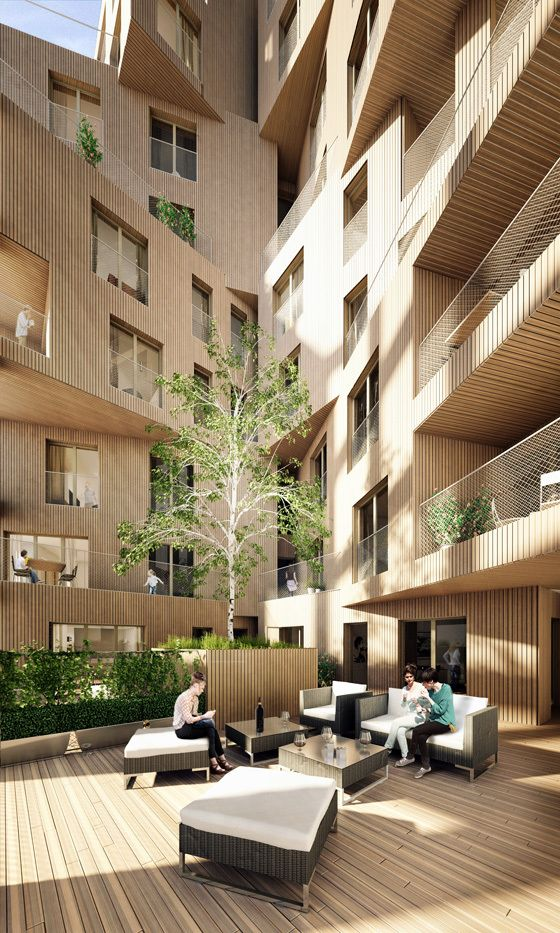 Wenlock Road Mixed-Use Development Proposal / HawkinsBrown Architects