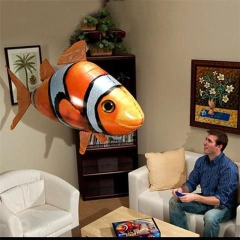 Air Swimmers Remote Control Flying Fish