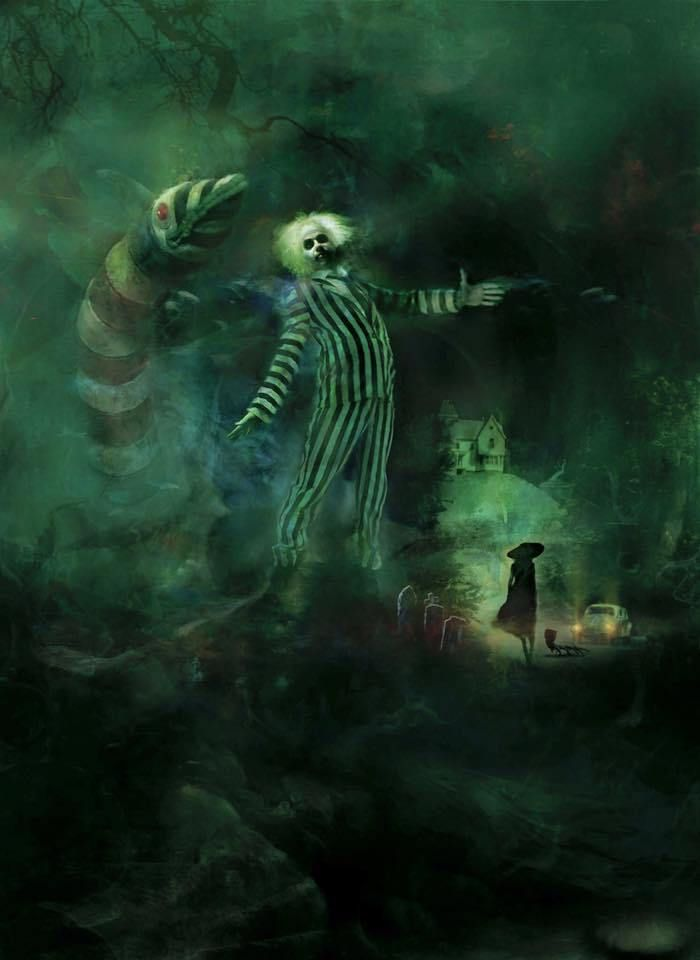 Artista recria pôsteres de filmes de horror em aquarela