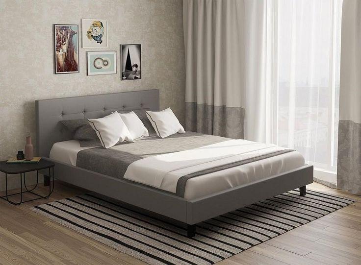 #bedroom #bed #simple #minimalism #grey #home #inspiration #bedroomidea